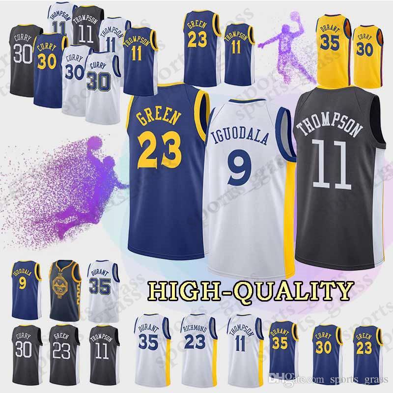 ce13ca316 Golden State 9 Andre Lguodala Warriors Jerseys 11 Klay Thompson 23 ...