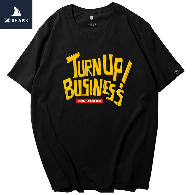 42fbc20e2 XSHARK Men T Shirt Hip Hop Funny Graphic T Shirts Camiseta Hombre Manga  Corta 100% Cotton Print Mens Tshirt Large Size Xxxxxxxl All T Shirt Order  Tee Shirts ...