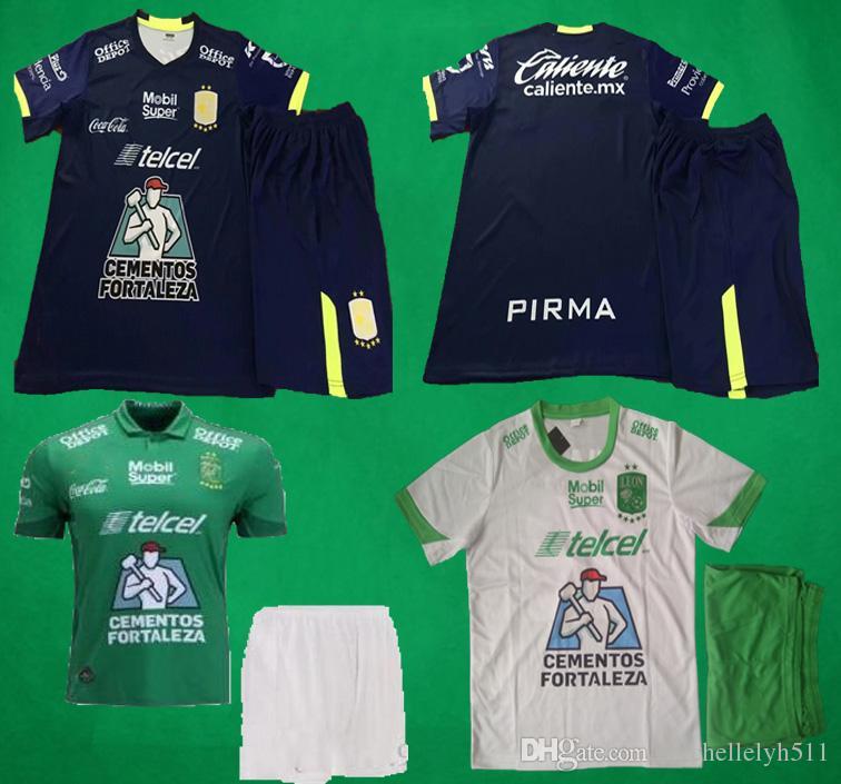 bc22e8a1e6a 18 19 Leon Kit Camiseta De Fútbol De Local Ausente Jersey 2019 Liga ...