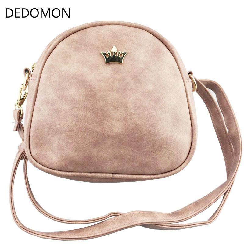 Cheap 2018 Handbag Phone Purse Women Small Bag Imperial Crown PU Leather  Women Shoulder Bag Small Shell Crossbody Bag Brand Designer Satchel  Handbags Ladies ... b1f76b1306