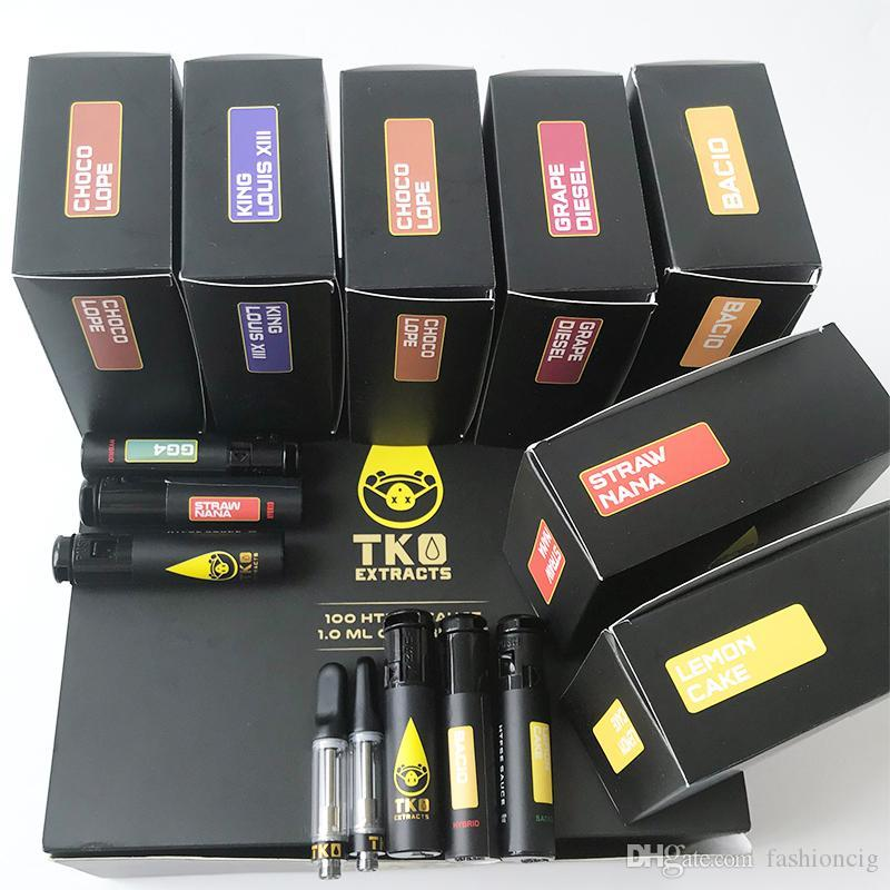 Ev Elektroniği Elektronik Sigaralar Atomizörler Ürün detayı Yeni siyah versiyon TKO Özlü Vape Kartuşu 0.8ml Seramik Bobin