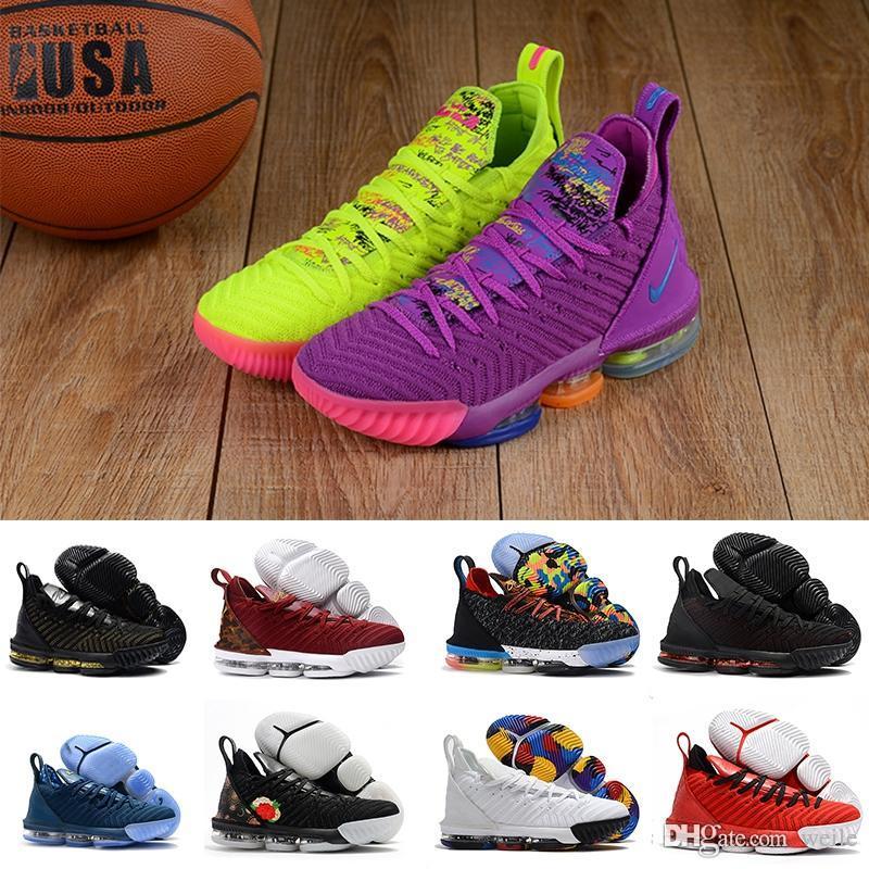 0b6ebbda2d32 Brand 16 Mens Basketball Shoes Yellow Purple 1 THRU 5 King I Promise ...