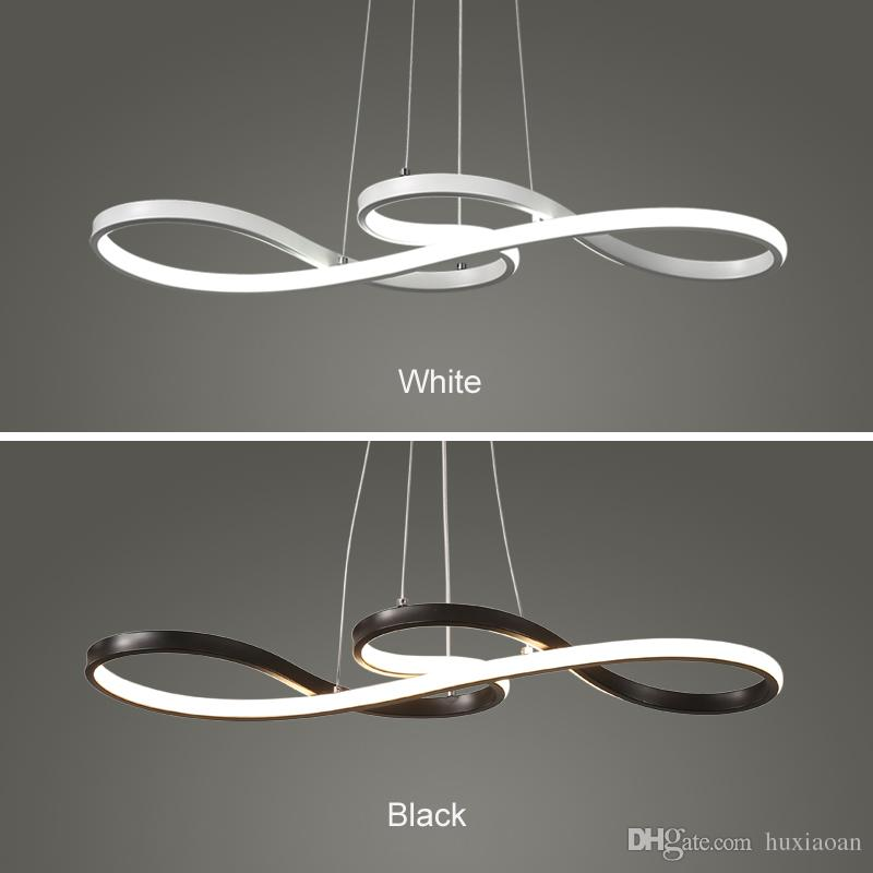 2019 Minimalism DIY Hanging Modern LED Outdoor Pendant Lamps For Dining Bar  Pendant Lamp Suspendu Pendant Lighting Fixture Fixture Drop Ceiling Light  ...