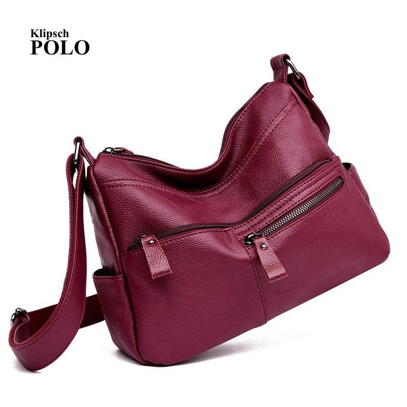 532edd4a5e303 Women Leather Handbags Bolsa Feminina Bolsos Mujer Shoulder Bag Ladies Hand  Sac Main Femme Pochette Messenger Torebka Handtasche Fashion Bags Designer  ...