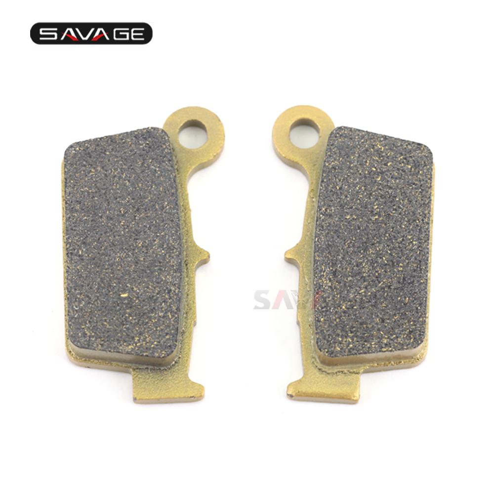 Rear Brake Pads Disc For YAMAHA WR250X WR250R WR250F WR450F YZ450F YZ250F YZ125 2006-2019 Motorcycle Accessories