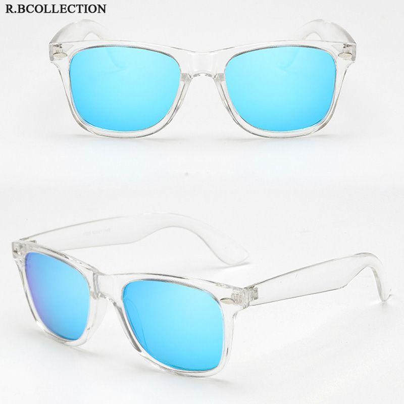 bef955d9a99 2019 Polarized Men s Sunglasses Classic Unisex Style Retro Rivet Shades  Brand Designer Transparent Frame Sun glasses UV400