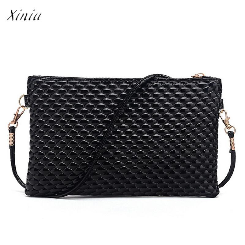 Cheap Fashion Women Handbag Shoulder Bag Casual Tote Messenger Faux Leather Satchel Crossbody Bags for Women 2018 bolsa feminina