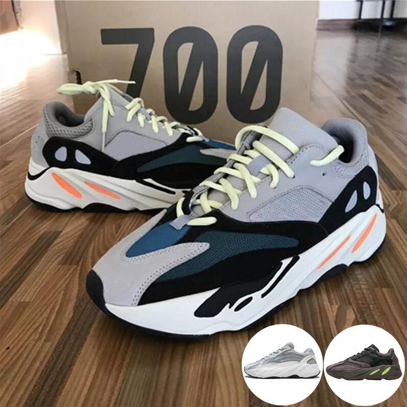 b51539bde73 Adidas Yeezy 700 Runner 2019 Nuevo Kanye West Mauve Wave Hombres Mujeres  Athletic Mejor Calidad 700s Deportes Zapatillas De Deporte Zapatillas De  Diseñador ...