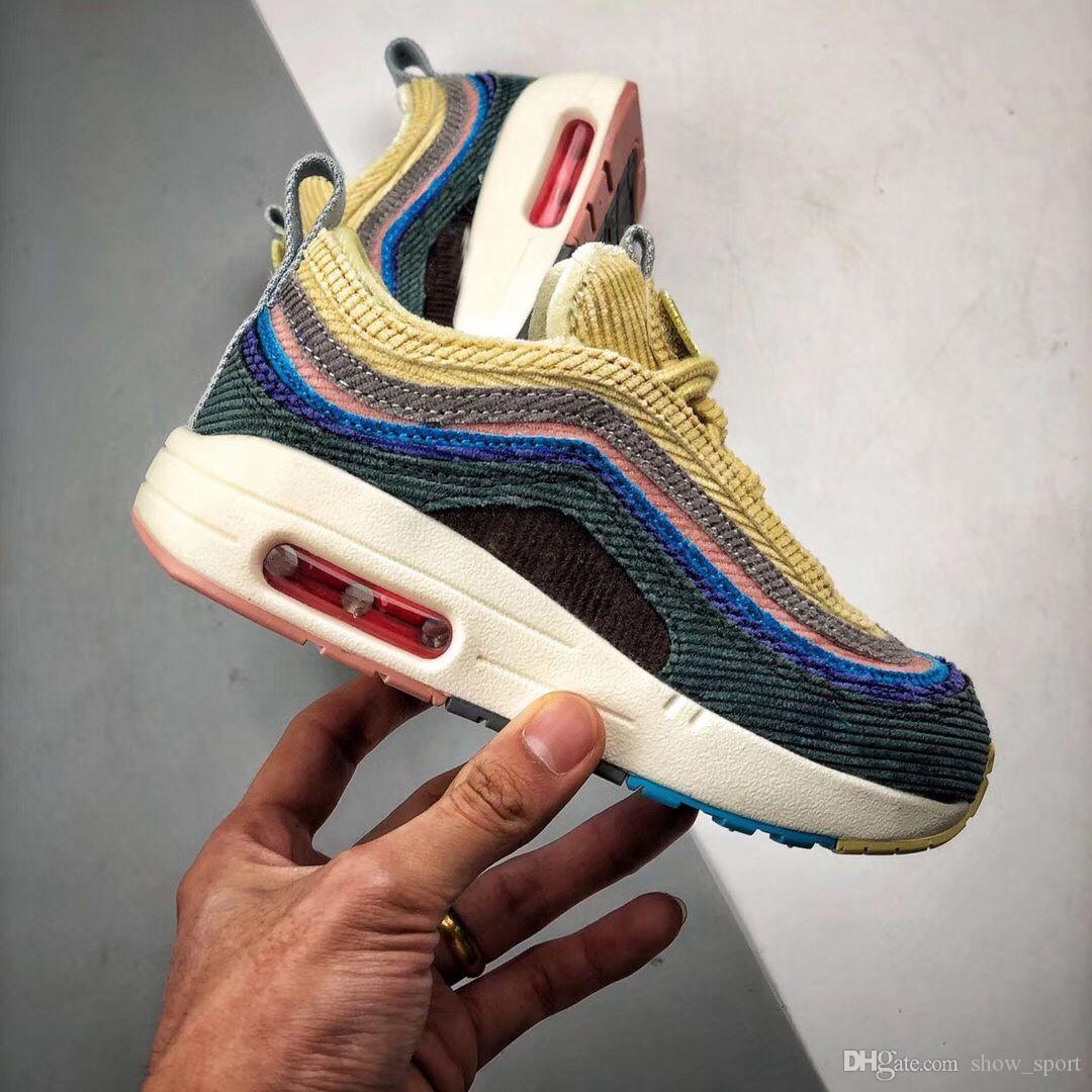 Acquista Nike Air Vapormax 97 Nuove Scarpe Bambini 97 Sean Womenspoon X 97  VF SW Ibrido Bambino Scarpa Da Corsa Ragazzo Ragazza Bambini Scarpe Casual  28 35 ... 722ffe20d11