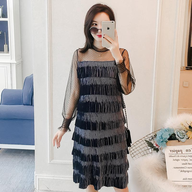 064ed5d99dd 2019 2019 New Arrive Spring Maternity Dress Woman Fashion Large Size Dresses  Pregnant Woman Maternity Clothing MD 00614 From Vanilla14