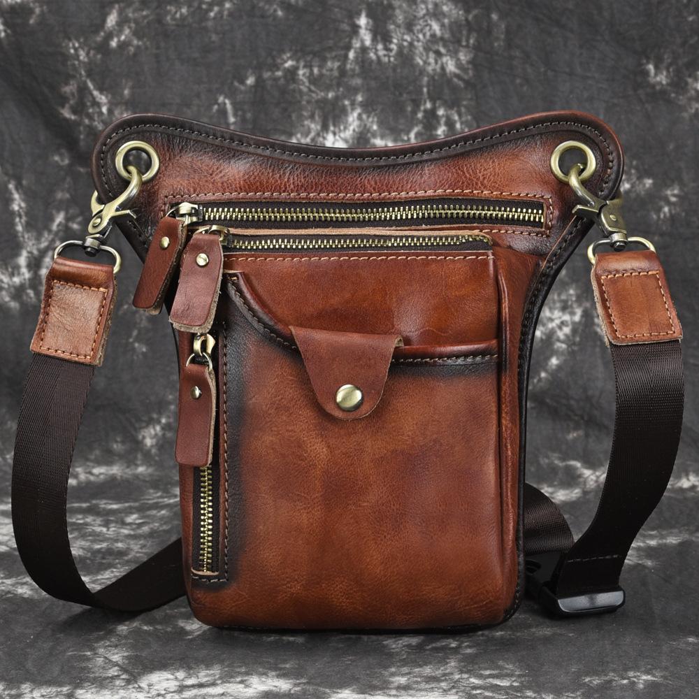 43de7cb2 Compre Bolsos Bandolera Bandolera Vintage Para Hombre Bolsos De Viaje  Casual Crossbody A $60.9 Del Whataver | DHgate.Com