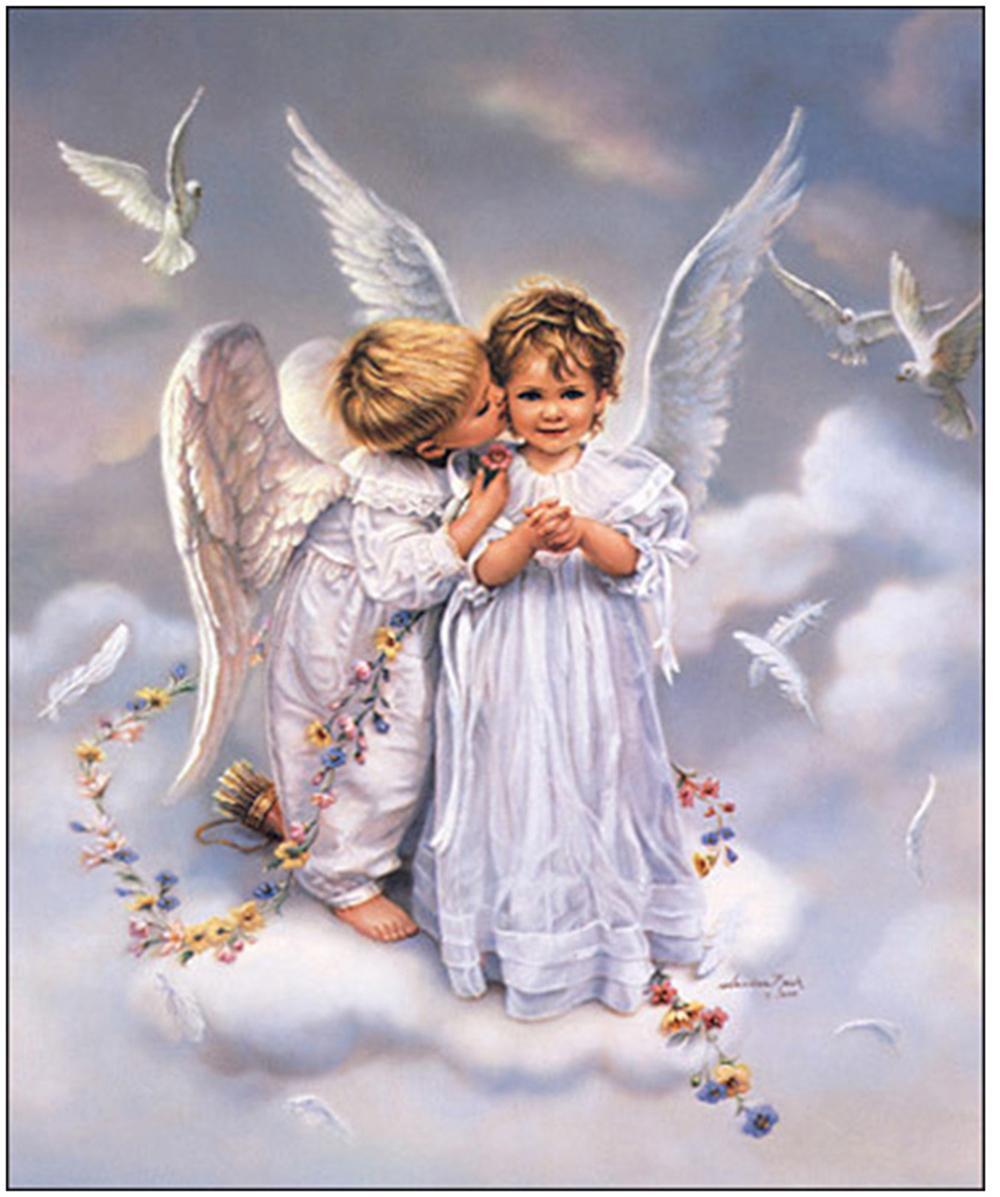 Картинка, самые красивые открытки ангелов