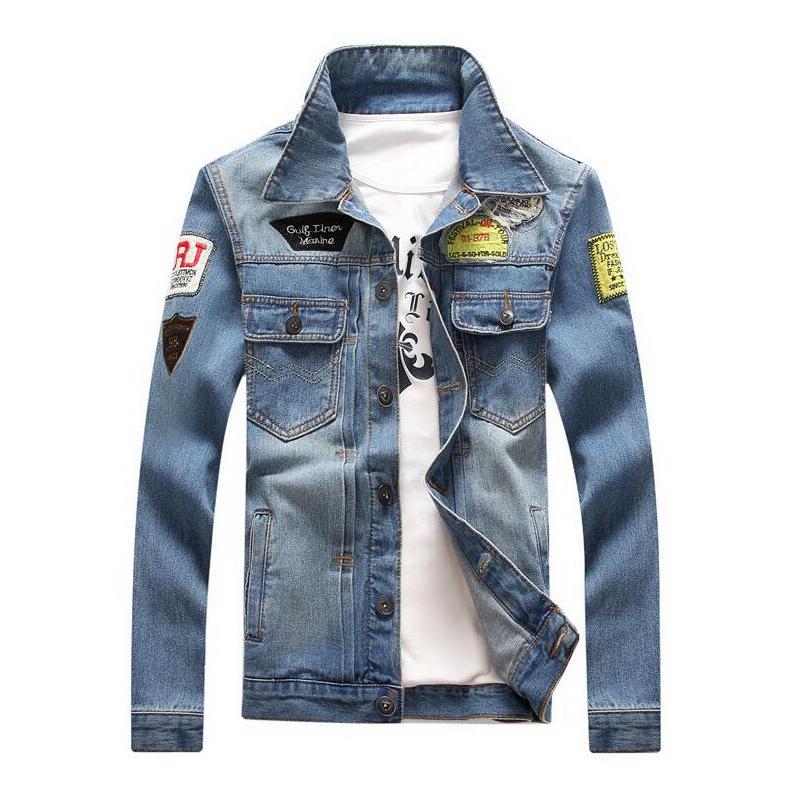 97d1b0208c1 Mens Denim Jacket Plus Size Coat 5XL Casual Bomber Jackets Men High Quality  Man Vintage Jean Jacket Streetwear Chaqueta Hombre Mens Style Jackets Jaket  For ...