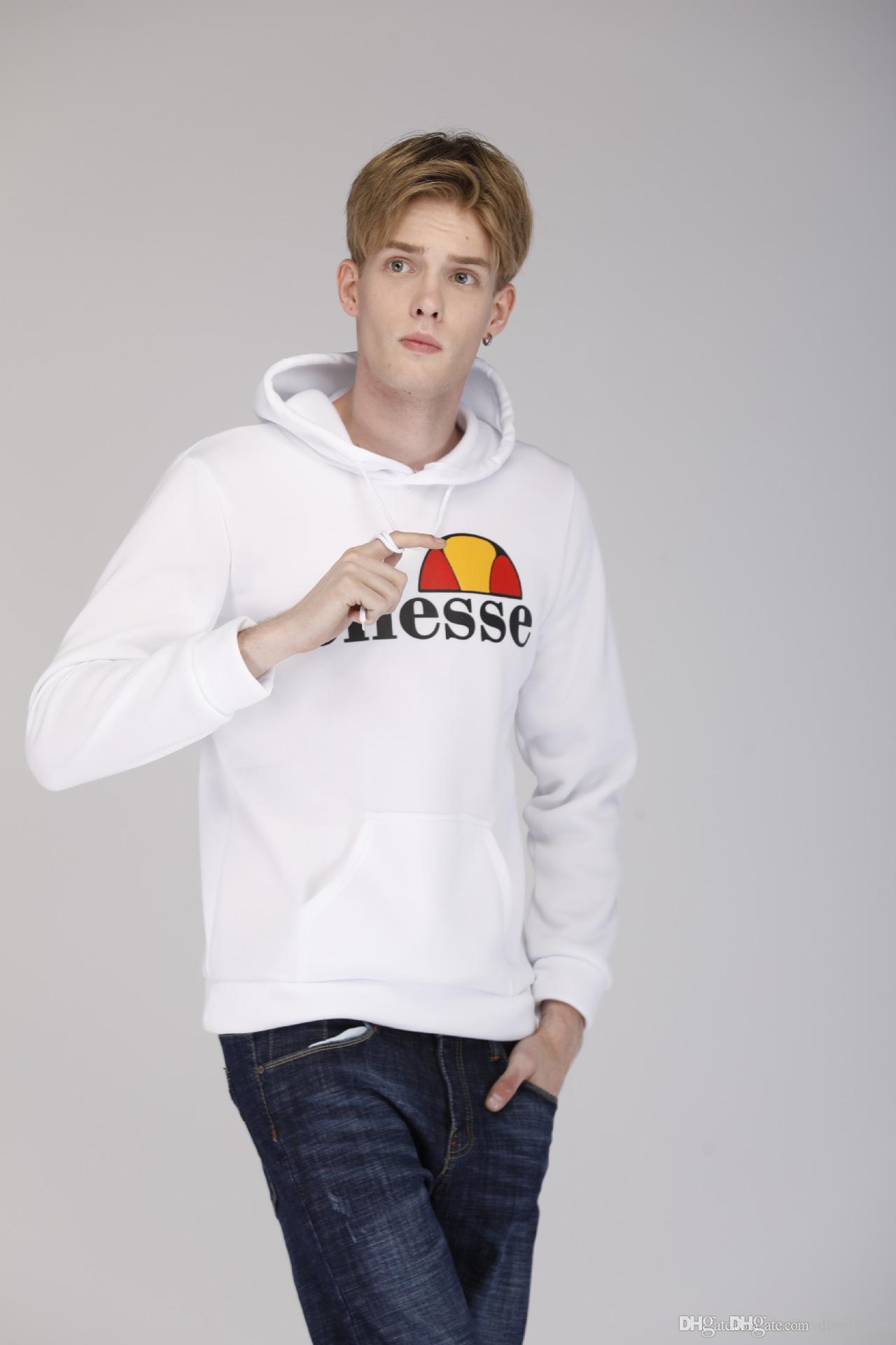 9b05cead ellesse Itality Brand Mens 2018 Hoodie Designer Fashion Hooded Casual Homme  Sports Sweatshirts