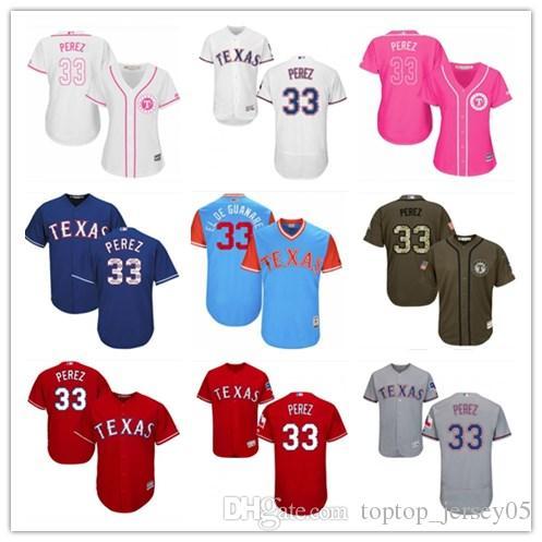separation shoes 123c5 0979f 2018 top Texas Rangers Jerseys #33 Martin Perez Jerseys  men#WOMEN#YOUTH#Men's Baseball Jersey Majestic Stitched Professional  sportswear