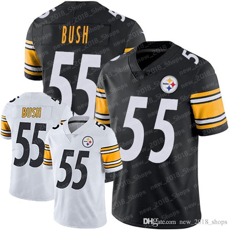 cheap for discount ffece 228fb 55 Devin Bush Steeler 1 Kyler Murray Pittsburgh football jersey Cardinal  Arizona 92 Quinnen Williams 17 Daniel Jones Jet Gaint top New York