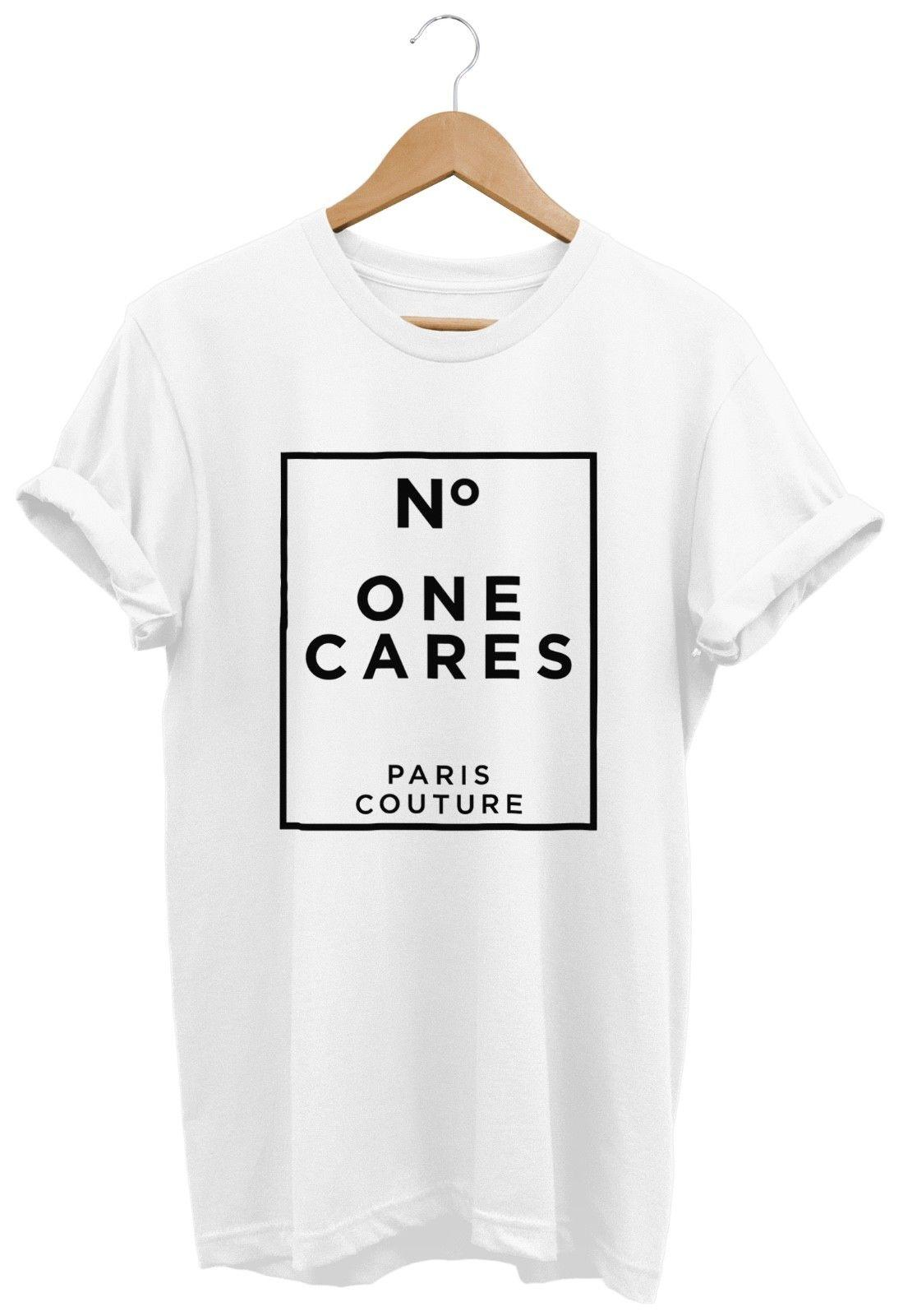 07433a25 No One Cares Paris Couture T SHIRT UNISEX WOMENS FUNNY HIPSTER FASHION  SLOGAN Funny Unisex Casual Tshirt Designs T Shirt Design Template From  Fastshipdirect ...