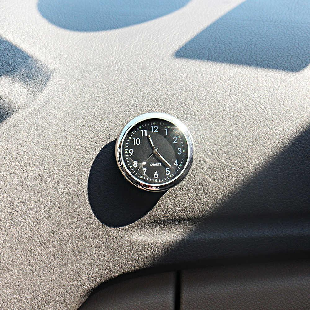 Car Ornament Auto Clock Pocket Watch Time Meter Quartz Decoration  Automobiles Interior Dashboard Display Digital Pointer Clock