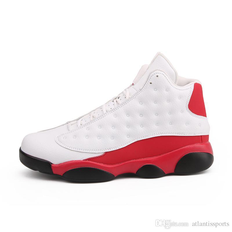 1c22ec90628 Acheter Chaussures De Sport Haut De Gamme Pour Hommes De Luxe Retro  Basketball Boots Bottes Respirantes Antidérapantes À Lacets Baskets  Blanches Zapatillas ...