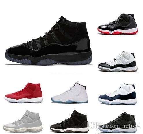 2019 Cheap 11s WIN LIKE 96 Concord Cool Grey Space Jam Varsity Red Mens  Basketball Shoes 11s Mid Athletic XI Sport Sneakers Boys Basketball Shoes  Cp3 Shoes ... 7360424e0