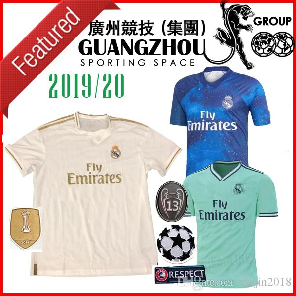 acbc632ad 2019 19 20 REAL MADRID SOCCER JERSEYS EA 4TH SPORTS Blue MODRIC 10 HOME  CHAMPIONS LEAGUE 2019 BALE JERSEY ASENSIO MARIANO 7 Jersey SHIRTS KIT From  ...