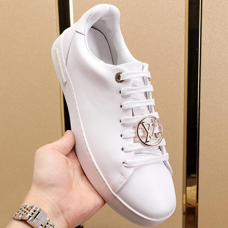Frontrow sapatilha Men '; s Shoes Moda Brands Sneakers confortável Top qualidade de luxo Shoes Lace -Up Plus Size Casual Estilo Shoes D