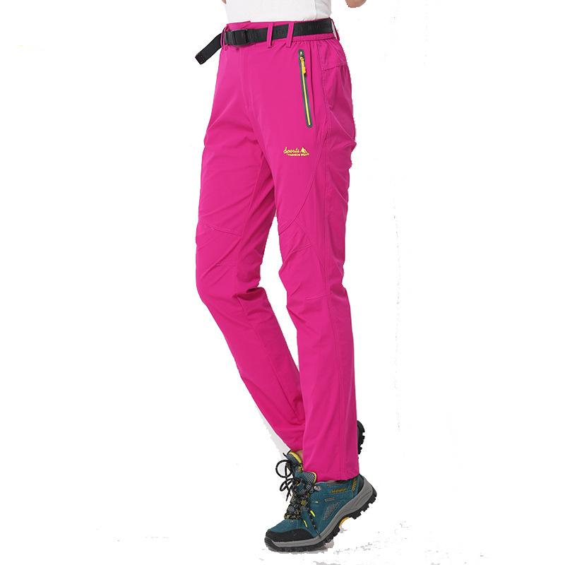 Elastische Damenhose Chillaz Active Women Pant Titan-gelb