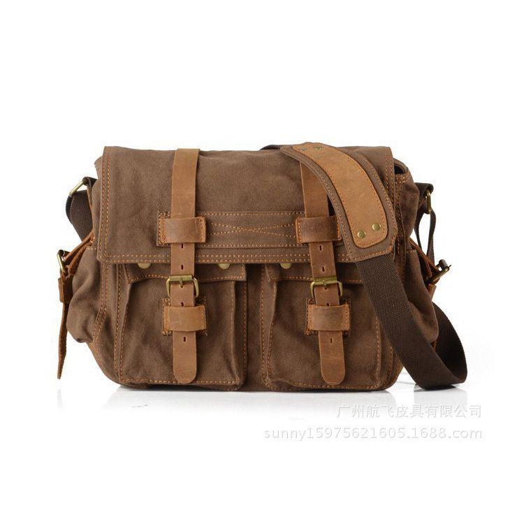 6c99a511de Hot Sale Men Messenger Bags Military Vintage Canvas Bag Crossbody Bags For  Mens Casual Bags Pt493 Designer Purses Satchel Bags From Jumpmen03