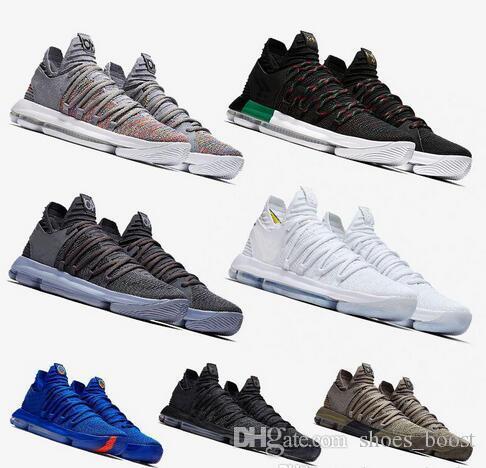 sports shoes e9725 4064d Großhandel 2019 Neue Ankunft Kd 10 X Oreo Vogel Von Para Basketball Schuhe  Für Hohe Qualität Kevin Durant 10 S Sprungkissen Sport Turnschuhe Schuh Von  ...