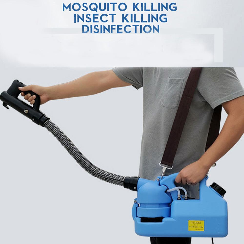 110V/220V 7L Electric ULV Cold Fogger Insecticide Atomizer Ultra Low Capacity Disinfection Sprayer Mosquito Killer U Cold Fogger Machine