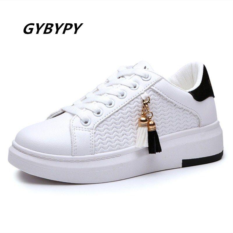 08087cc5a Compre Designer De Sapatos De Moda Nova Moda Mulheres Coreanas 2019  Primavera Outono Vendendo Populares Casuais Selvagens Respirável Lace Up  Senhoras De ...