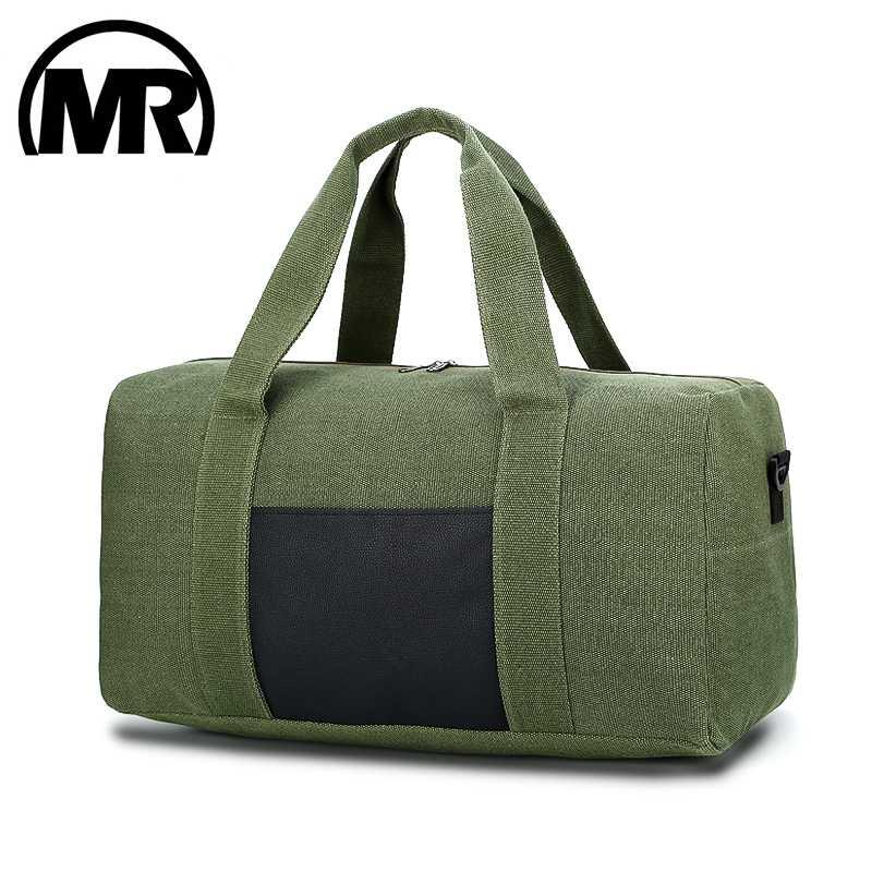 46c6a8208 MARKROYAL Men Canvas Travel Luggage Bags Tote Large Capacity Male Crossbody Bag  Overnight Travel Duffle Weekend Bag Suit IPad Laptop Backpack Messenger Bags  ...