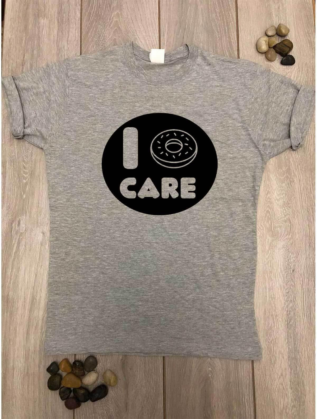 d08d81c27 I Donut Care T Shirt Tumblr Fashion Cute Slogan Funny I Don'T Care Tee Idea  GiftFunny Unisex Casual Tshirt Top T Shirts For Sale Printed T Shirt From  ...