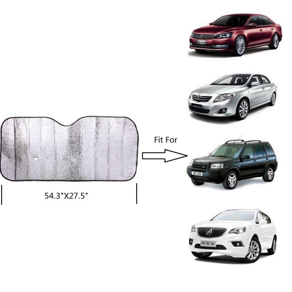 140x70cm Car Sunshade Sun Shade Front Rear Window Film Windshield Visor  Cover UV Protect Reflector Decorative Car Accessories Discount Auto  Accessories From ... e1c7e002628