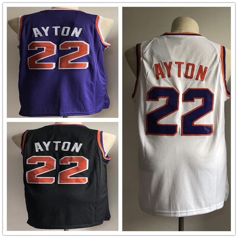 b17ad9eed5b6 22 DeAndre Ayton Men s Basketball Jerseys 2019 New Season Fashion ...