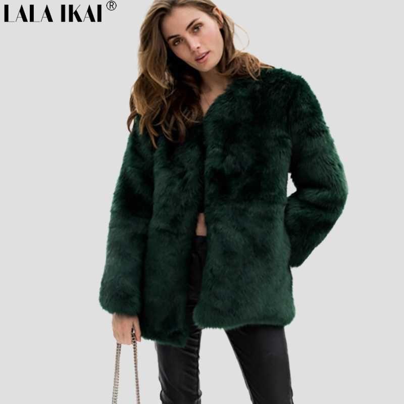 2017 frauen Winter Herbst Warm Faux Pelzweste Casacos Femininos Solide Sleeveless Mantel Oberbekleidung Haar Jacke Weste Plus Größe