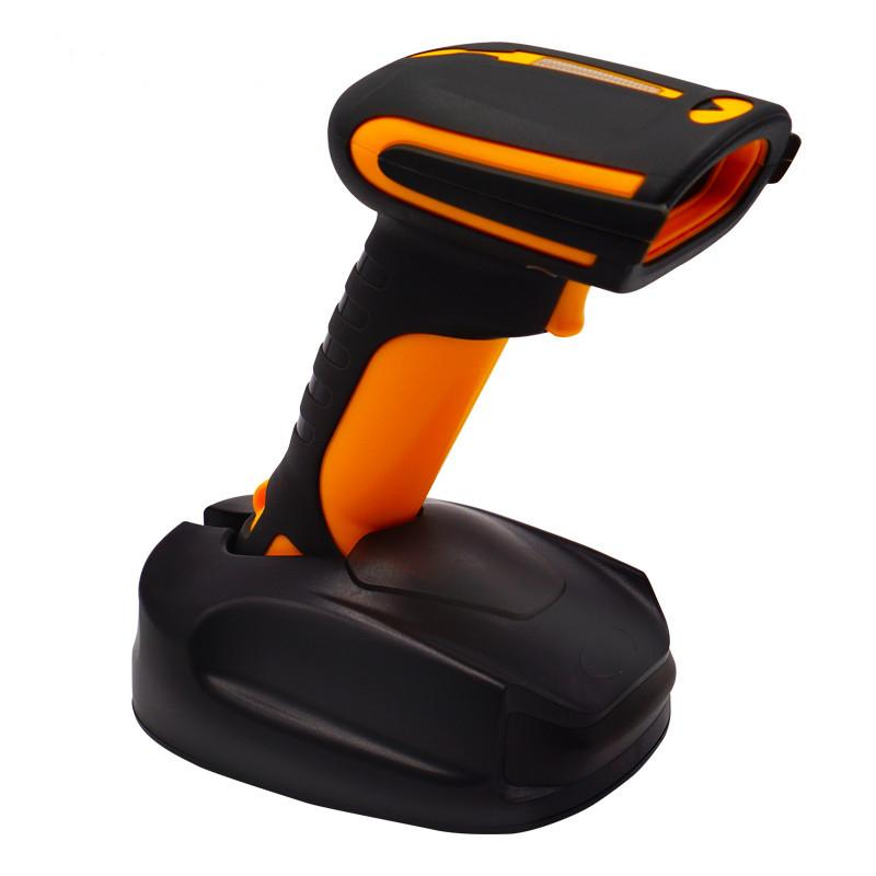 2D Scanner IP68 robusti Android di Windows 2.4G Bluetooth mano immagine del codice a barre 1D QR terrà Barcode Scanner Wireless