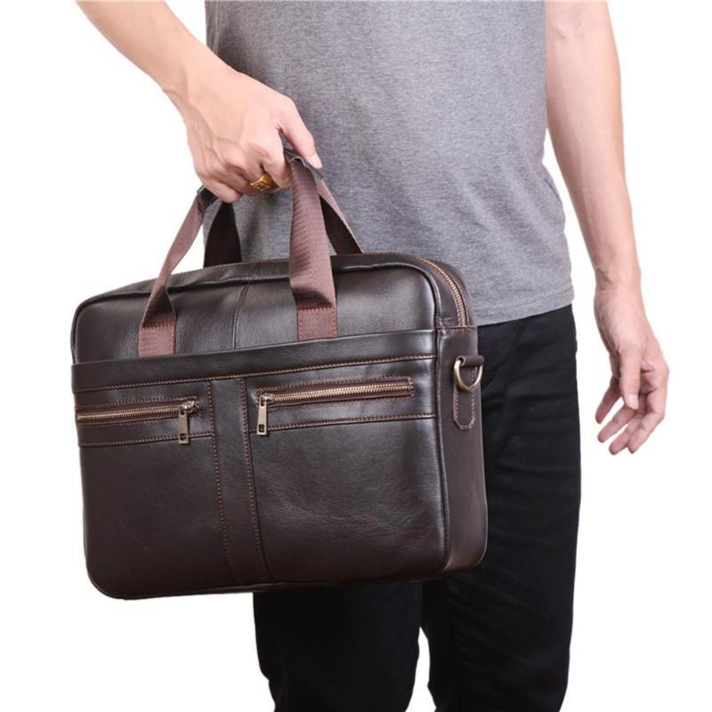 cf08f4a063f2 Large Men Laptop Handbags Male Bussiness Shoulder Bag Casual Solid Crossbody  Messenger Bag For Man Portable Big Briefcase Cheap Bags Cheap Designer Bags  ...