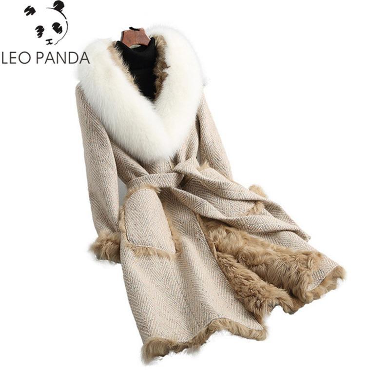 Acquista 2018 Cappotto Di Pelliccia Reale Di Qualità Superiore Cappotto Di  Pelliccia Naturale Di Volpe Collo Di Pelliccia Cappotto Invernale Donna In  Vera ... 556ea65ae41