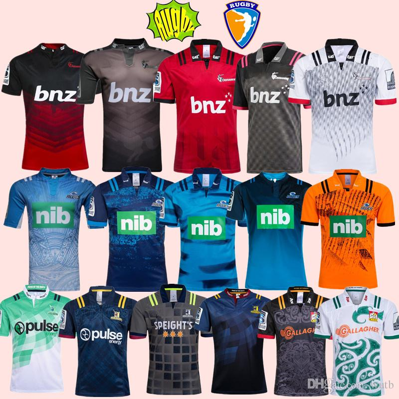 29fdb04a14d 2019 2018 2019 CRUSADERS 2018 Chiefs Super Rugby Jersey 18 19 New Zealand  Super Chiefs Blues Crusaders Highlanders Training Shirts SIZE: S 3XL From  Wutb, ...