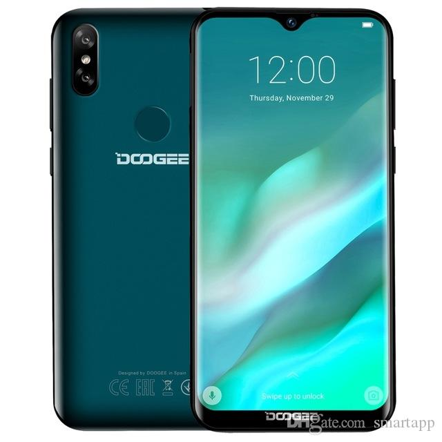 DOOGEE Y8 Smartphones 4G LTE 6 1inch Waterdrop Screen Android 9 0 Quad Core  3GB RAM 16GB ROM Cell Phones