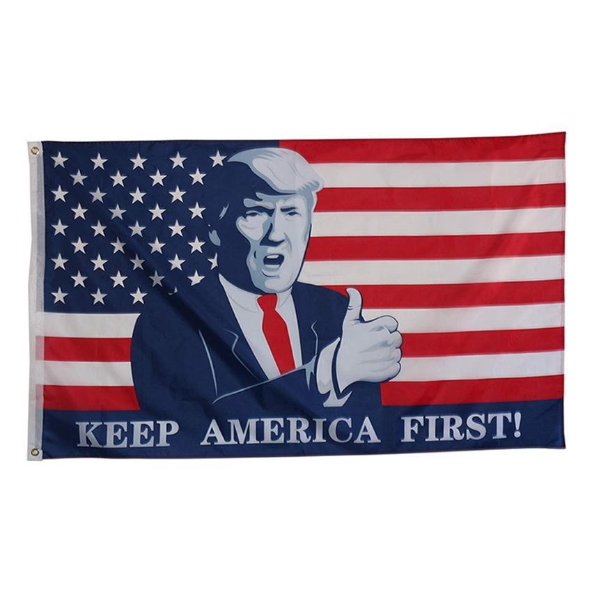 2020 90*150cm Donald Trump Garden Flag 2020 President USA