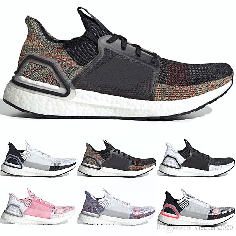 8aa1a44e02fc7 2019 2019 Ultra Boost 19 Men Women Running Shoes Ultraboost 5.0 Laser Red  Dark Pixel Core Black Ultraboosts Sport Sneaker Cheap Size 5 12 From  Sneakers2020