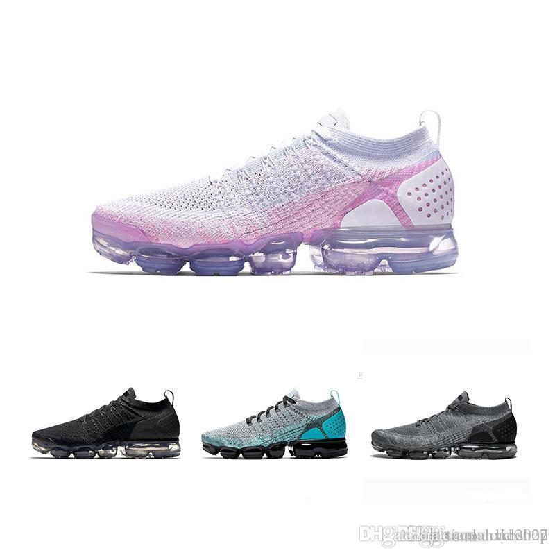 online store 7be8b 0a7b9 Acquista Nike Air Vapormax Max Off White Flyknit Utility Vapormax 2018 2019  Tn Più Scarpe Da Corsa Da Uomo Sneakers Da Donna Le Donne Moda Atletica  Jogging ...