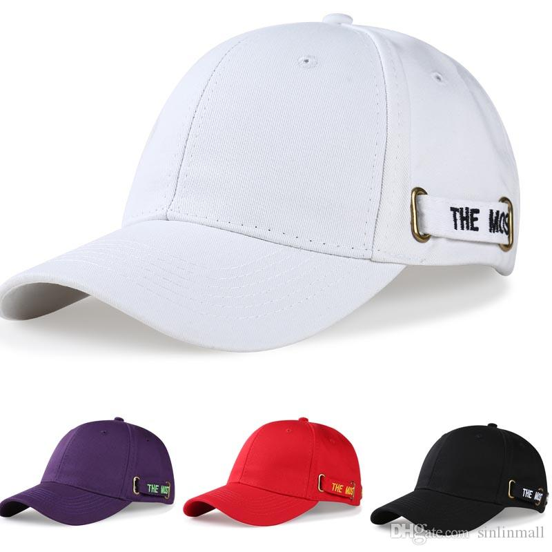 Hot Selling Cotton% Popular Letters Embroidery Dad Hats Adjustable Men  Women Baseball Cap Hat Summer Shade Golf Hat Dad Cap Snapback Caps Fitted  Hats From ... e83da8e891ba