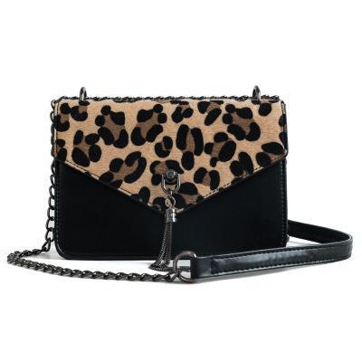 e8549d8707a 2019 Fashion NEW Tassel Chain Bags Faux Leather Suede Cross Body Bags For  Women Velvet Flap Envelope Hand Bag Leopard Print Shoulder Designer Purses  Satchel ...