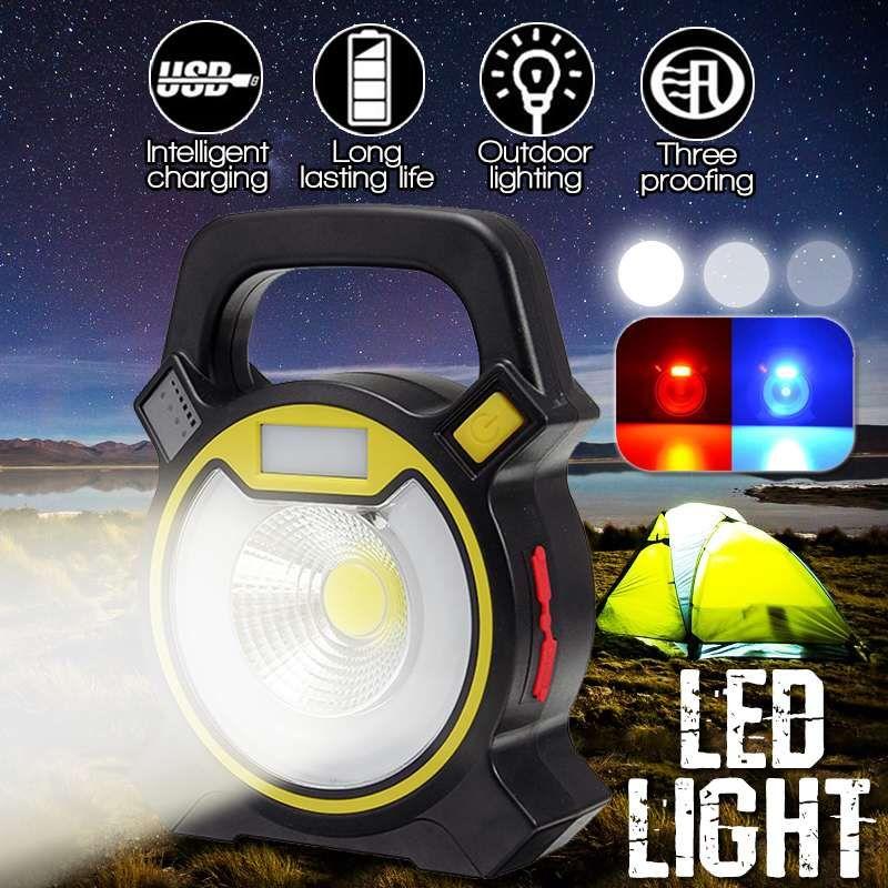 Emergency Portable Cob Light Usb Led 35w Work Lamp Handheld Rechargeable Modes Inspection Lantern Solar Tent 4 8k0XnwOP