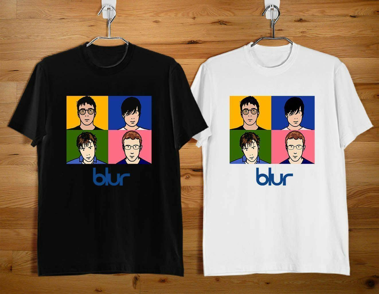 74ae1c031 NEW BLUR ENGLISH ROCK BAND BLACK AND WHITE T SHIRT USA SIZE S XXXL ZM1Funny  Unisex Casual T Shirts Vintage T Shirts Sale From Tshirtkidd, $12.96|  DHgate.Com