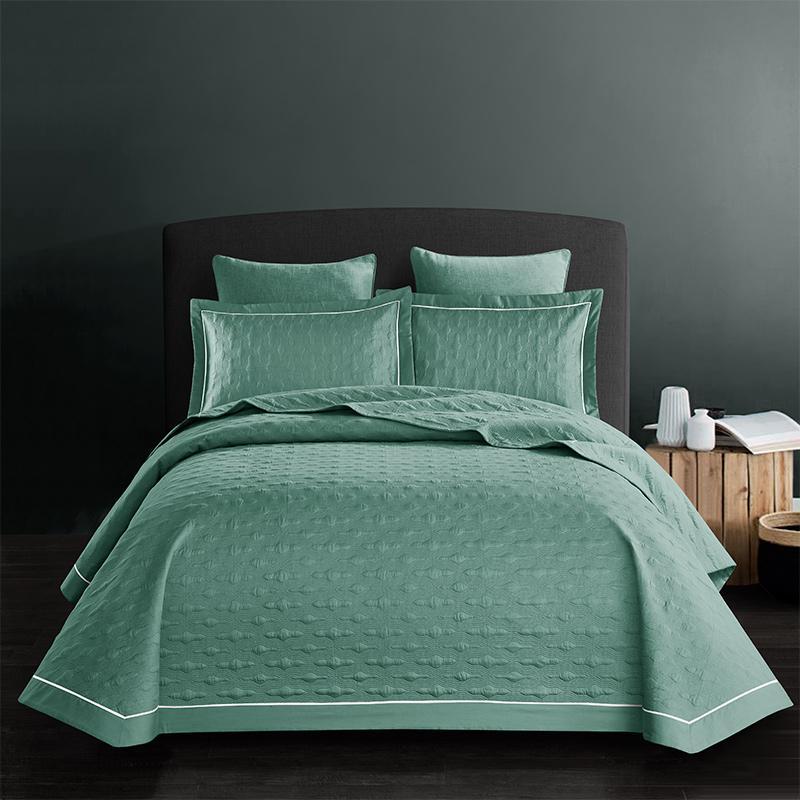 Cotton Quilt Bedspread Bed Cover Couverture De Lit Couvre Lit