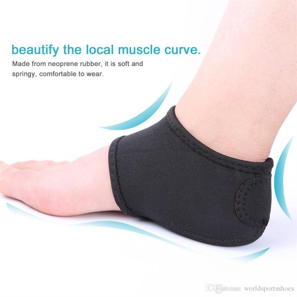 cdf0ec6ad4 2019 Men Women Plantar Fasciitis Arch Support Heel Pain Relief Foot Pain  Sleeve Cushion Wrap Anti Protecting Cover Drop Shipping #591288 From ...